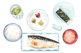 Lovely Watercolor Paintings of Food in Japan