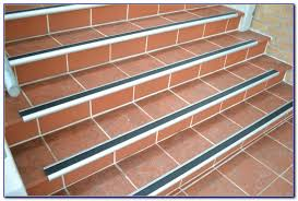 Wood Stair Nosing For Tile by Rubber Stair Nosing For Tile Tiles Home Decorating Ideas