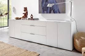 hülsta fena sideboard in reinweiß und betongrau möbel letz