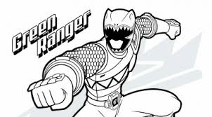 Power Rangers Coloring Pages Free Printable Kids Activities