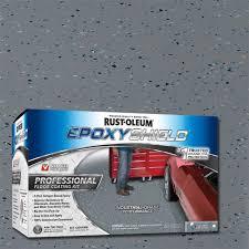 100 Solids Epoxy Floor Coating by Rust Oleum Epoxyshield 2 Gal Dark Gray Semi Gloss Professional