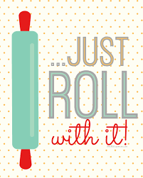 Just Roll With It Cute Set Of 4 Free Kitchen Printables