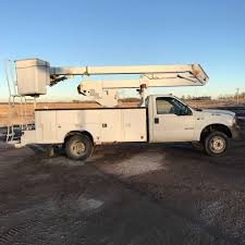 100 Ford Bucket Truck 1999 FORD F550 XL WTelelect HR37M 212 Equipment