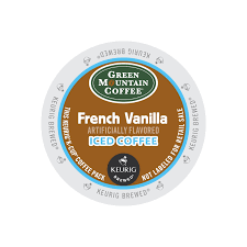 Pumpkin Iced Coffee Dunkin Donuts 2015 Calories by Green Mountain French Vanilla Brew Over Ice K Cup Coffee