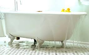Unclogging A Bathtub With A Plunger by How To Unclog A Bathtub Drain With Standing Water Air Tool Guy