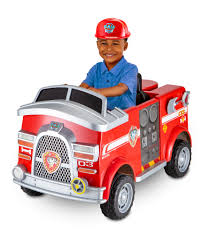 100 Kid Trax Fire Truck Battery Paw Patrol 6 Volt Powered Ride On Toy By
