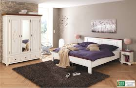 schlafzimmer set zugspitz 3 türig landhaus fichte massiv antik weiß kolonial
