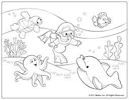 Arts And Crafts Coloring Pages Summer For Kids Printable