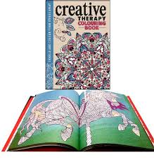 Coloring Book Therapy Free Pages Of Creative