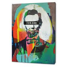 Abraham Lincoln Color Blind Print Matthew Lew