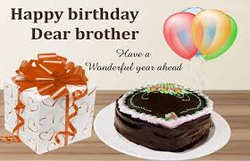 """happy birthday brother """""""