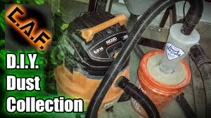 DIY Dust Collection System - How To Make - YouTube Dust Collection Fewoodworking Woodshop Workshop 2nd Floor Of Garage Collector Piping Up The Ductwork Youtube 38 Best Images On Pinterest Carpentry 317 Woodworking Shop System Be The Pro My Ask Matt 7 Small For Wood Turning And Drilling 2 526 Ideas Plans