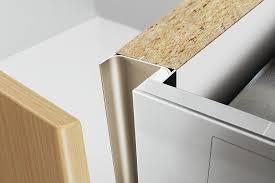 Hafele Cabinet Hardware Pulls by Hafele 126 37 912 Vertical Profile Aluminum 2500 Mm Length
