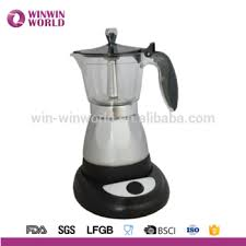 Moka Stovetop Espresso Coffee Maker With Italian Safety Valve And Protection Handle Black 6