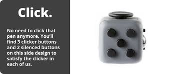 Fidget Cube Patent Pending Has Six Sides Each Side Features Something To With
