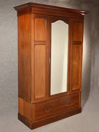 Antique Wardrobe Armoire Mirror Door Maple & Co Quality English ... Wardrobe 34 Remarkable With Mirror Doors Picture Ideas Provencal 2door Mirrored French Armoire Single Door Armoire Wardrobe Abolishrmcom Innerspace Overthedowallhangmirrored Jewelry Fniture Antique Ikea Aspelund Armoires Cheap Storage By Bedroom Modern Cheval Espresso Hayneedle Worboys Antiques Clocks Painted Single Door Affordable Over The Mirror Design Haing Wardrobes Closets Ikea