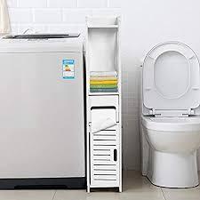 badezimmerschrank mit tür 80 x 15 5 x 15 cm weiß