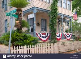 Victorian House Bed and Breakfast St Augustine Florida USA Stock