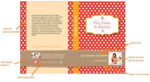 livre de recettes de cuisine créer livre de cuisine cahier de cuisine creermonlivre com