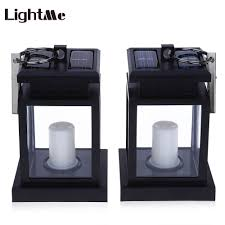 X10 Lamp Module Led Christmas Lights by 2 Pcs Lightme Candle Lantern Solar Led Lamp A Green Origin