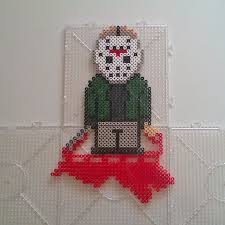Halloween Perler Bead Templates by Jason Voorhees Perler Bead Pattern Google Search Melty Bead