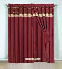 Linden Street Blackout Curtains by Curtains Ideas Burgundy Striped Curtains Inspiring Pictures Of