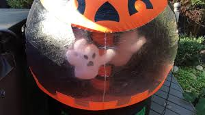 Halloween Airblown Inflatables Uk by Gemmy 2006 6ft Rotating Ghost Globe Inflatable Youtube