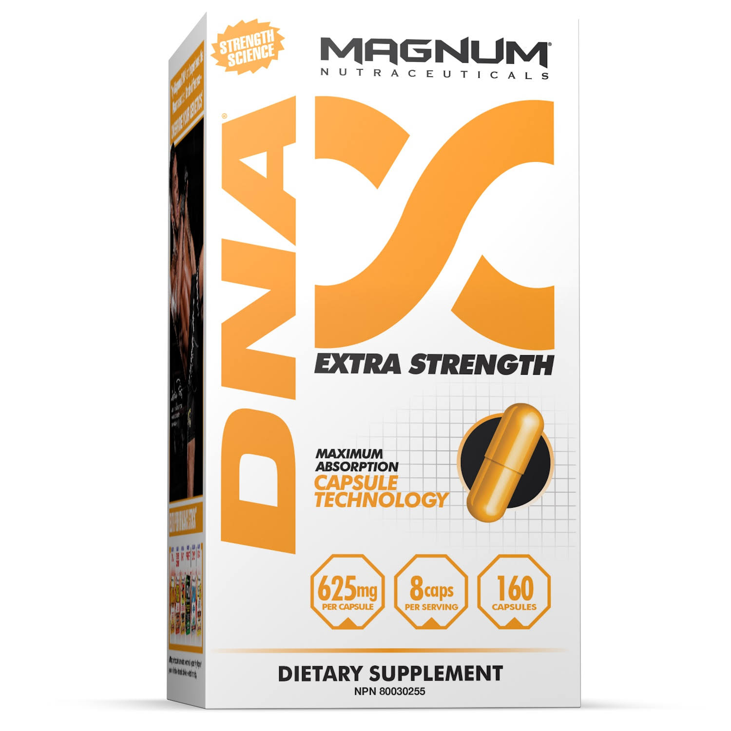 Magnum Nutraceuticals DNA Supplement - 160 Capsules