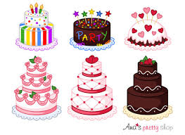 Cake clipart bakery clipart pastry clipart wedding cake birthday party st valentines sweet clipart dessert clipart vector graphics from