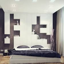 Bedroom Furniture Design With Pleasant Low Bed Sets Also Headboard Ideas That Completed Smart Shelves For