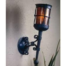 mica ls lf211 wall sconce torch vintage iron lighting