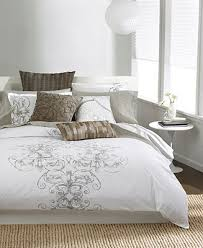 Macys Bedding Collections by Bar Iii Vintage Scroll Bedding Collection Bedding Collections