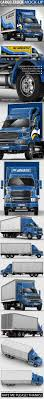 100 Ford Sterling Truck Cargo MockUp Based By Bennet1890 GraphicRiver