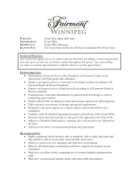 Front Desk Agent Jobs Edmonton by Food Service Supervisor Resume Best Definition Essay Editing