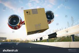 Fast Cargo Delivery By Creative Vehicle Stock Illustration 391270414 ...