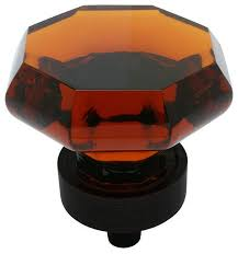 Cosmas Oil Rubbed Bronze Cabinet Pulls by Cosmas 5268orb A Oil Rubbed Bronze And Amber Glass Cabinet Knob