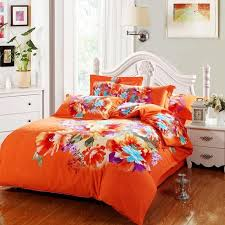 Bright Orange forter Sets awesome bright orange bedding set 92