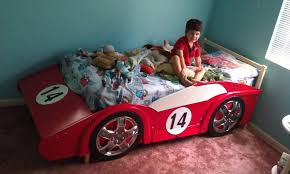 Corvette Toddler Bed by Race Car Bed Build It Yourself Full Size Little Tikes Toddler