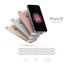 Apple iPhone SE Rose Gold 16GB Apple Phones