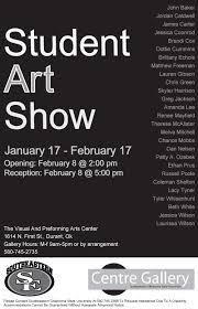 SE Student Art Show 2011 Poster