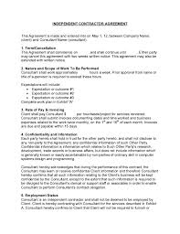 INDEPENDENT CONTRACTOR AGREEMENT This Agreement Is Made And Entered Into On May 1 12