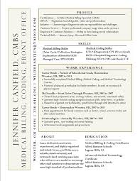 Sample Resume Certified Professional Coder New Medical 19