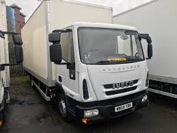 100 Used Box Trucks For Sale By Owner Iveco EUROCARGO 75E16S SA AUTO BOX Van For Sale In Salford