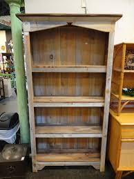 Amish Reclaimed Barn Wood Bookcase