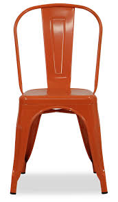 Orange Metal Chairs - Ivoiregion Saddle Leather Ding Chair Garza Marfa Jupiter White And Orange Plastic Modern Chairs Set Of 2 By Black Metal Cafe Fniture Buy Eiffel Inspired White Orange With Legs Grand Tuscany Total Sizes Wd325xh36 Patio Urban Kitchen Shop Asbury With Chromed Velvet Vivian Of World Market Industrial Design Slat Back Products Flash Indoor Outdoor Table 4 Stack