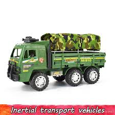 100 Price My Truck Inertial Military Diecast Vehicle Model Camouflage Simulation