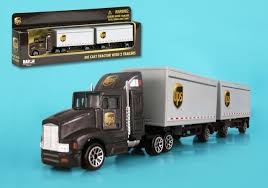 100 Ups Truck Toy Daron UPS United Parcel Service S And Plane Deluxe Gift