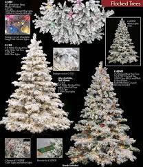 75 Slim Flocked Christmas Tree by Artificial Flocked Christmas Trees