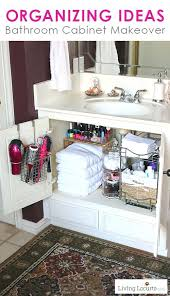 clever bathroom cabinet organizers elpro me