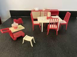 puppenhaus möbel zubehör küche esszimmer retro